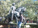 """Mad"" Anthony Wayne statue"