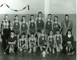 Basketball team in 1957