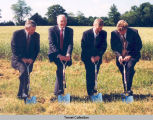 VILLAGE OF HERITAGE GROUND BREAKING IN 1999