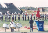HERITAGE MARCHING BAND IN 1995