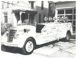 1940 International Harvester Rescue Unit that was built by the Fort Wayne Fire Shop is shown at...