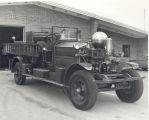 1927 Ahrens-Fox Pumper. A reserve pumper stored at Fire Station No. 5, 5801 Bluffton Road. Date...