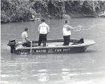 Drowning in the St. Mary's River. David Hill 8 year old son of Mrs. Beverly A. Gosnell of 525 High...