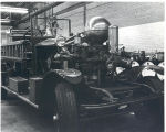 1927 Aherns Fox Pumper in the Fort Wayne Fire Department Shop at 1717 South Lafayette Street...