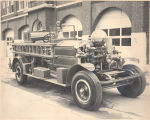 1927 Ahrens-Fox Pumper. Picture was taken at the Firefighters Museum or Old Fire Station No. 3,...