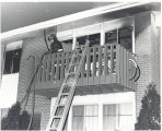 Apartment fire at Colonial Apartments 1910 Hobson Road Apt. 202. Five injured, Captain Donald...