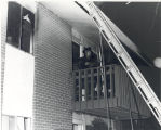 Apartment fire at Colonial Apartments 1910 Hobson Road Apt. 202. Five injured, Donald Suelzer....