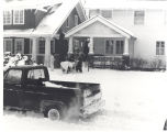 Big snow storm. EMS run for fire department. Date 01/26/1978.