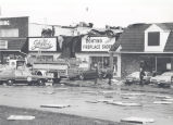 Tornado damage to Stoller Building at 919 Coliseum Blvd. North. Date 04/10/1978.