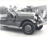 1930 Tillerman Hook and Ladder Truck that was restored by St. Joseph Township Firefighters. Date...