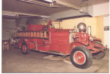 1926 Ahrens-Fox Pumper at the Firefighters Museum 226 West Washington Blvd. Date 02/06/1984.
