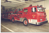1962 Maxim 100' Aerial Ladder Truck at Fire Station No. 2, 2023 Taylor Street. This was a...