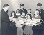 Color Books Bring Prizes for Fire Prevention Week 1950