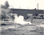 G. E. Fire Brigade Dry Chemical Demostration