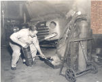 """Don't get all burned up?"" Article Photo 1950"