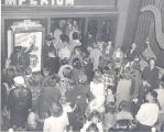 Crowd Leaving the 119 Show in 1951