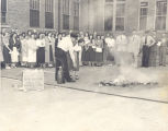 Extinguisher Training in 1951