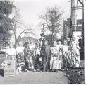American Legion Auxiliary Junior's Halloween Party Saturday, October 22, 1955, at the American...