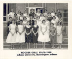 Hoosier Girls State--1958, Indiana University, Bloomington, Indiana.