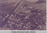 Aerial View of Woodburn, Indiana