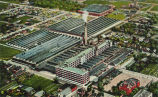 AERIAL VIEW OF DELCO-REMY CORPORATION PLANT, ANDERSON, INDIANA.