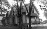 R. E. FLEMING HOUSE, BERRY AND FULTON STREETS, DEMOLISHED AND REPLACED BY J. J. WOOD HOUSE. IN...