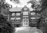 ALEXANDER KENT HIGH SCHOOL, KENTLAND, INDIANA.