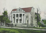 ADMINISTRATION BUILDING, INDIANA SOLDIERS' HOME, LAFAYETTE, INDIANA.