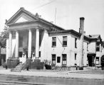 MCCULLOCH HOUSE, LATER FORT WAYNE COLLEGE OF MEDICINE AND TURNERS FRATERNITY ATHLETIC SOCIETY,...