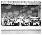 FRANKE PARK THEATER: CAST OF NEW MOON AT NEWS SENTINEL OUTDOOR THEATER, FORT WAYNE, SUMMER 1948,...