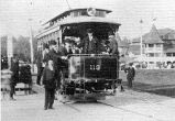 FORT WAYNE CONSOLIDATED RAILWAY COMPANY 1897. THE ROBISON PARK STREETCAR LINE PROVIDED THE ONLY...