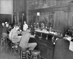 ANTHONY HOTEL, FORT WAYNE IN: INTERIOR SHOWING BAR FROM BERRY STREET DOOR, LOOKING NORTH. FEBRUARY...