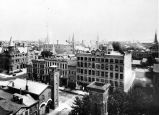 Berry Street, Fort Wayne IN: taken southeast from courthouse, showing old city hall, firehouse,...