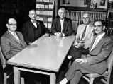 Allen County Fort Wayne Historical Society, 1959: committee planning historical seminar series for...