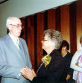 Allen County Public Library: retirement party for Jacqueline Belschner, 1983, showing Jackie with...