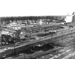 Fort Wayne Transit: terminal on Leesburg Road, aerial view, February 1955.
