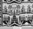 American Bicentennial, Fort Wayne IN: Smithsonian Institution exhibit 'American coverlets' shown...