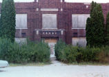 Washington Township school, Noble County IN: built 1925, R. Guy Hall, supt., Noah Stump, trustee....