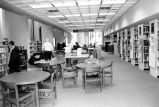 Allen County Public Library: Webster street building, Young Adult Services reading room, looking...