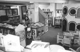 Allen County Public Library: Webster street building, Children's Services, showing picture books and play area. Taken December 1999 by Carol Stolte Spallone.