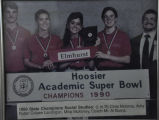 1990	HOOSIER ACADEMIC SUPER BOWL STATE CHAMPIONS SOCIAL STUDIES
