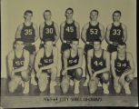 1963-64 CITY SERIES BASKETBALL CO-CHAMPIONS