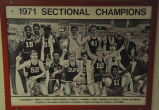 1971 SECTIONAL BASKETBALL CHAMPIONS