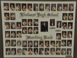 ELMHURST HIGH SCHOOL MARCHING BAND 1984-1985