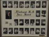 ELMHURST HIGH SCHOOL JAZZ BAND 1990-91