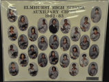 ELMHURST HIGH SCHOOL AUXILIARY CHOIR PHOTOGRAPH 1982-83