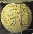 1996 REGIONAL RUNNER-UP SOFTBALL