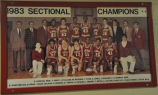 1983 SECTIONAL CHAMPIONS BASKETBALL