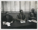 1972 Convention. BPE - Central Region. Left to right:  Teacher Larry Blazek, Layman Robt Sattler...