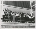 1963 District Convention. Teachers' Choir under direction of Teacher Warren Ford, St. Paul,...